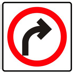 Continuous lap traffic sign