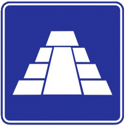 Tourist Zone traffic sign